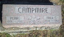 Florence Pearl <i>Caywood</i> Campmire