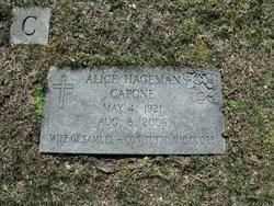Mrs Alice <i>Hageman</i> Capone