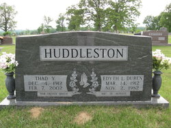 Thad Young Huddleston