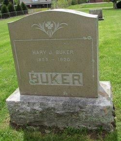 Mary Jane <i>Soule</i> Buker