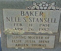 Nell <i>Stansell</i> Baker