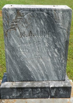 Martha Anne <i>Eidson</i> Adney