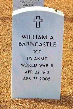 William A Barncastle