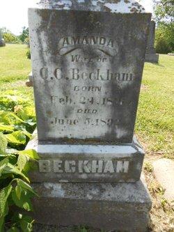 Amanda <i>McMeekin</i> Beckham