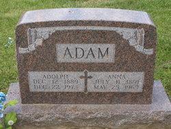 Anna Elizabeth <i>Montgomery</i> Adam