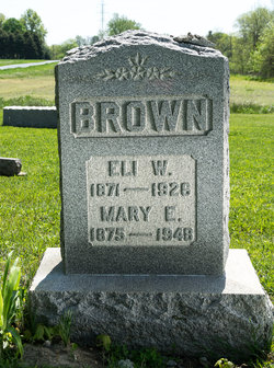 Mary E <i>Pifer</i> Brown