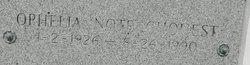 Ophelia Note <i>Lafont</i> Chouest