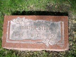Martha D <i>Wolf</i> Stein