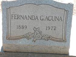 Fernanda <i>Garcia</i> Acuna