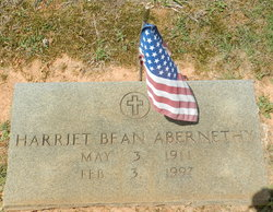Harriet <i>Bean</i> Abernethy