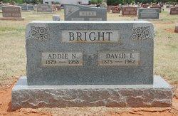 Addie N. <i>Choate</i> Bright