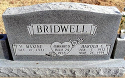 Harold C Bridwell