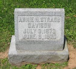 Annie <i>Straub</i> Davison