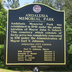 Andalusia Memorial Cemetery