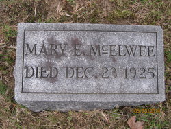Mary E McElwee