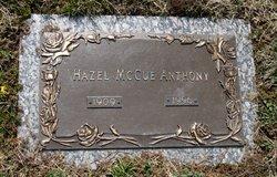 Hazel Jeanette <i>McCue</i> Anthony
