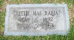 Hettie Mae <i>Browne</i> Rabia