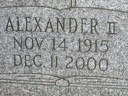 Alexander Billmeyer, II