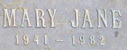 Mary Jane Paulson
