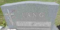 Marjorie L. <i>Pickert</i> Lang