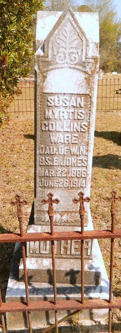 Susan Myrtis <i>Jones</i> Collins Ware