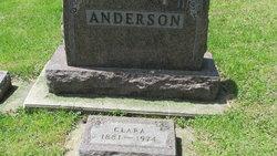 Clara <i>Dahl</i> Anderson