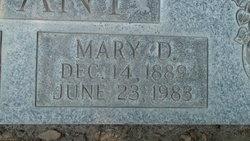 Mary Della <i>Hobbs</i> Bryant