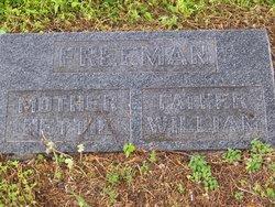 Rosetta Elina Nettie <i>Graham</i> Freeman