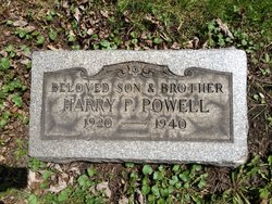 Harry P Powell