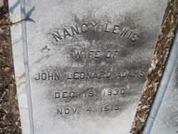 NANCY <i>LEWIS</i> ADAMS