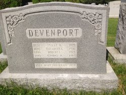 Mary Ann <i>Devenport</i> Cain