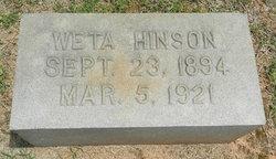 Ida Mae Weta Hinson