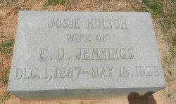 Josie L. <i>Hinson</i> Jennings