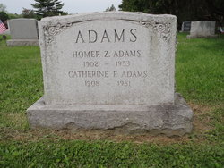 Catherine <i>Fleischman</i> Adams