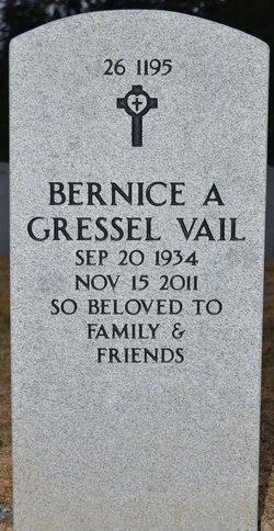 Bernice Ann <i>Gressel</i> Vail