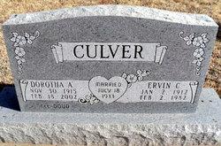Dorotha A <i>Doud</i> Culver