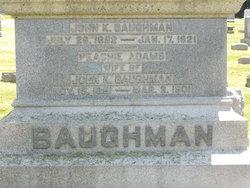 John K Baughman