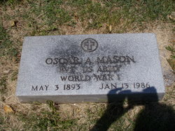 Oscar Avery Mason