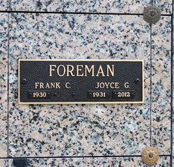 Joyce Gaile <i>Purdham</i> Foreman