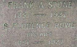 S. Florence <i>Rowe</i> Stone