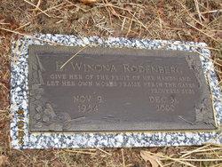E Winona Rodenberg