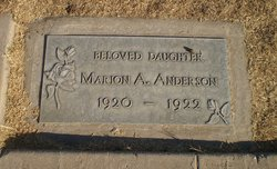 Marion A Anderson