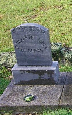 Elizabeth <i>Smith</i> MacLean