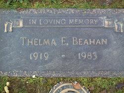 Thelma E Beahan