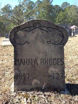 Mahala <i>Reese</i> Rhodes