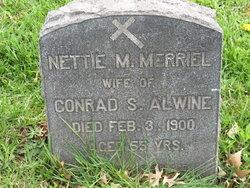 Mary Ann Nettie <i>Merriel</i> Alwine