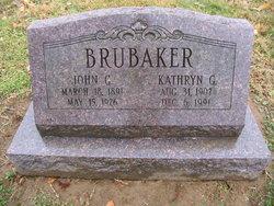 John G Brubaker