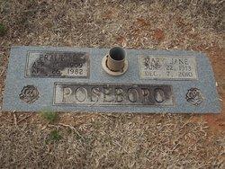 Mary Jane <i>Sheppeard</i> Roseboro