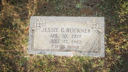 Jessie G Buckner