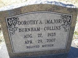 Dorothy Arlene Burnham <i>Major</i> Collins